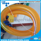 1/2- fio de aço do PVC do espaço livre de 4 polegadas reforçado/mangueira mola de Strengthed