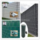 Proteção de privacidade do jardim e da terra da cerca da tela da tira do PVC