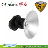 Indicatore luminoso di alluminio industriale della baia della lampada 100W LED dell'alloggiamento del magazzino IP65 alto