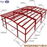 Nuovo magazzino prefabbricato gentile dell'acciaio per costruzioni edili della costruzione
