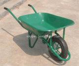 O carro do carrinho de mão do trole da mão da jarda com borracha roda Wb6400