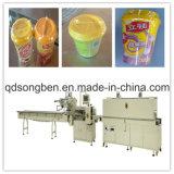 Milch-Teeshrink-Verpackungsmaschine mit Zufuhr
