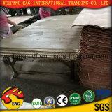 Bb/BB, bb/CC de madera contrachapada de color rojo de 1,5 mm