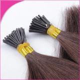 Выдвижений волос ногтя девственницы волосы бразильских Pre-Bonded