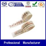 Starkes Adhesive Custom Logo Printed BOPP Packing Tape mit Company Logo
