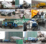 Une plus grande pompe globale concrète Dawin de Diesel40m3/Hour