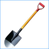 Деревянные рукоятки стали лопаты для сельскохозяйственных работ