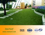 Uso Residencial Cesped искусственний PARA, селитебная поддельный искусственная лужайка дерновины травы для украшения сада