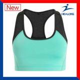 Healong Color puro de marcha Deportes prendas de vestir 100% algodón señoras gimnasio ejecutando Bras