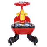 Светлый и популярный пластичный автомобиль игрушки автомобиля качания младенца