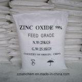 Oxyde de zinc de 99,7 % (de grade caoutchouc oxyde de zinc 99,7 % méthode indirecte)