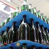 [بّ] يغضّن بلاستيكيّة زجاجة حاجز وفرجارالتقسيم طبقة كتلة