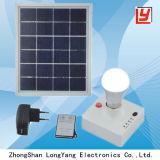 Commande à distance Protable Accueil l'énergie solaire lumière 3W