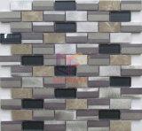 Mosaico misturado de alumínio de design moderno para decoração de parede (CFA107)