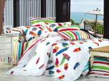 40s Pure Cotton mit Reactive Printed Bedding Set (YH1339)