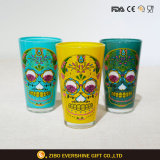 Hot 480ml color pinta cerveza Vaso de vidrio