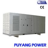 Générateur diesel silencieux de To1MW actionné par l'emballage de wer de Cummins (PFC1250S)