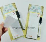 Блокнот магнитного блокнота липкое бумажное для рекламировать подарки