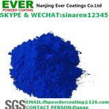 Deklaag van het Poeder van de Nevel van de Overjas van de Kleur van het suikergoed de Blauwe Transparante Blauwe Elektrostatische