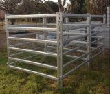 los paneles de la yarda del ganado del carril de 6rails Australia/el panel ovales estándar del caballo