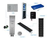 Bester Preis aller in einem Solar-LED-Straßenlaterne6W, 9W, 12W, 15W, 18W, 30W, 40W, 60W, 80W, 100W mit monokristallinen Sonnenkollektoren
