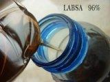 Minuto cru detergente dos produtos químicos LABSA 96% para fazer o pó de lavagem