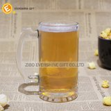 tazza eccellente di vetro di birra 1.5L con il marchio reso personale maniglia