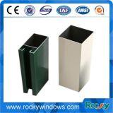 Première vente Windows et types de forme de Customed de portes de profils en aluminium