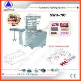 Pacote de acondicionamento automático de papel celofane sobre a máquina
