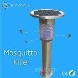 Acier inoxydable, piège à moustique solaire, lampe à gazon / jardin, éclairage extérieur, lampe muqueuse à moustique / lumière