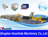 Ligne d'extrusion ABS / PE / PP / PS / Pet / PC / PMMA Plastic Extrusion Line