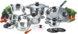 높은 Quality 16PCS Stainless Steel Cookware Set (CS116001)