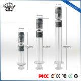 De Patronen die van de Olie van Cbd de Pen van Cbd Vape van het Slot van Luer van de Spuit van het Glas 1.0ml/2.25ml/3.0ml vullen