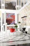 O mosaico de alumínio do projeto moderno da mistura de vidro da folha de ouro para a parede decora (GF302)