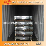 Tôles laminées à froid/chaud d'alimentation de matériau de construction de la bobine de feux de croisement galvanisé à chaud en métal de toiture plaque en acier ondulé