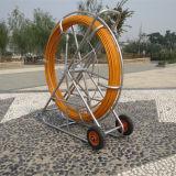 Воздуховод из стекловолокна Rodder протягивания кабелей с рулевой тяги