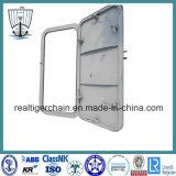 Porte marine en acier étanche pour navires