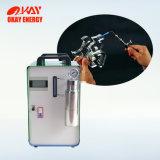 携帯用有機性ガラスの炎の磨く機械
