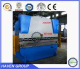 Placa de acero hidráulica máquina de doblado WC67S-80X2500