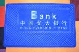 De Mat van de Deur van de Gift van het Huis van het Borduurwerk van het Embleem van de bank