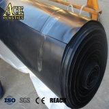 3M, 4m, 5m, 5.8m, 6m, 7m, 8m de plástico negro, rollo de geomembrana HDPE