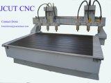 Une grande efficacité Multi-Spindles cnc machine à sculpter en bois 3D---- (JCUT-1813-6)