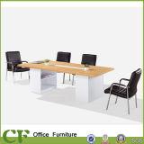 Tableau de conférence de mélamine de meubles de salle de réunion de bureau