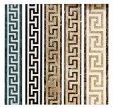 De marmeren Grens van het Medaillon van de Straal van het Water voor de Decoratie van het Huis