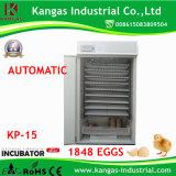Incubateurs automatiques marqués de volaille de la CE pour 1848 oeufs (KP-15)