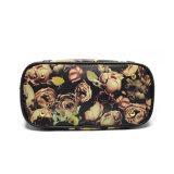 Sacchetti di Tote su ordinazione del cuoio del progettista dei bei fiori del ODM dell'OEM per le donne