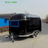 中国の工場からの4つの車輪の食糧トレーラー