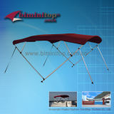 4 Tops Bimini Bow com postes de suporte traseiro