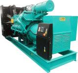 콘테이너에 있는 연료 탱크를 가진 최신 판매 1125kVA 900kw 디젤 엔진 Genset