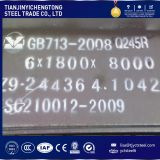 Druckbehälter-Becken/Behälter-Dampfkessel-Stahlplatten-warm gewalzter Kohlenstoff und Legierungs-Platte Q245r/Q345r